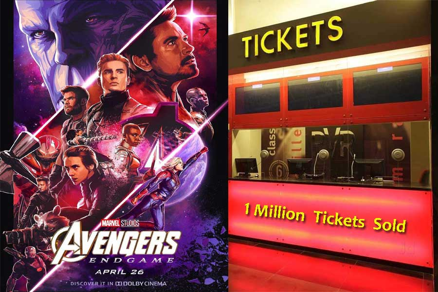 Avengers Endgame Sold 1 Million Tickets