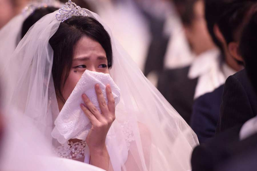Blubbing Brides in China