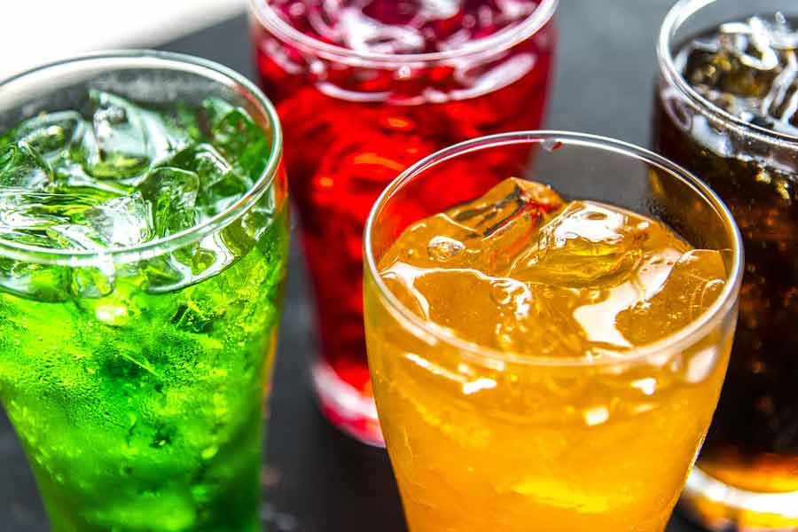 Cold Carbonated Drinks