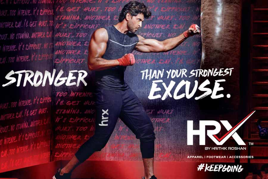 HRX and Hrithik Roshan