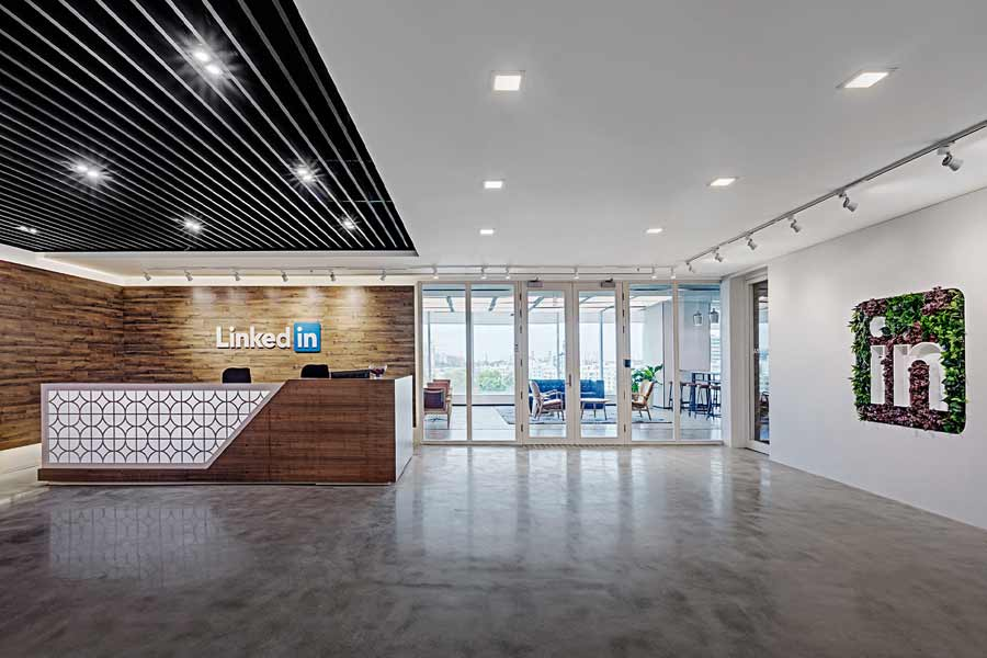 LinkedIn, office Bangalore