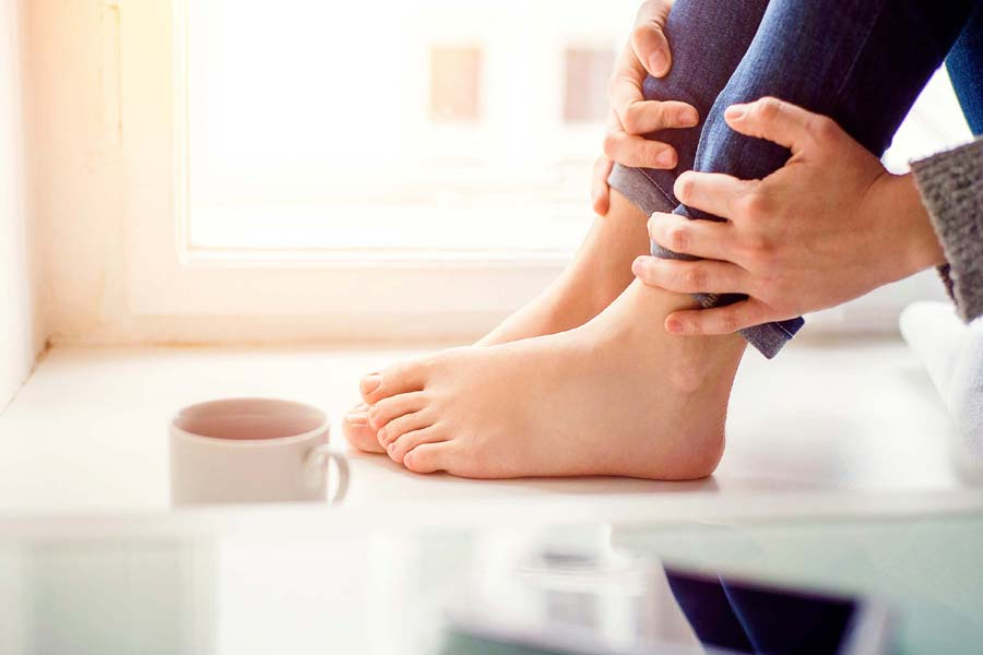 Remove fungus from your toes