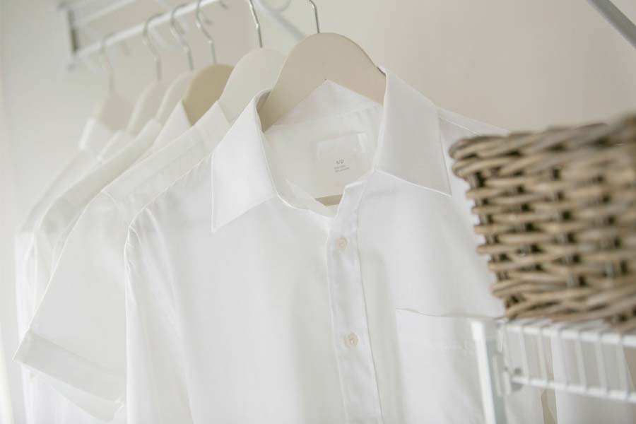 Make your clothes white