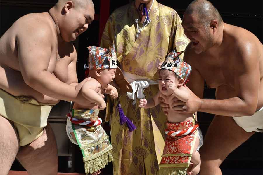 Konaki Sumo Fest, Japan
