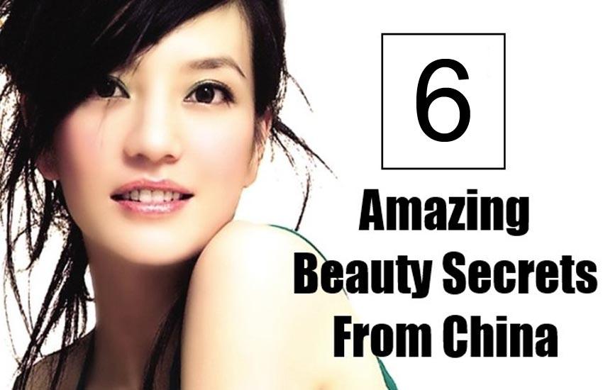 Amazing Chinese Beauty Secrets
