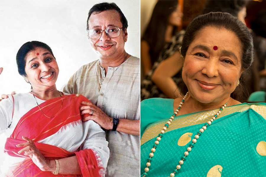 Love Life of Asha Bhosle ji