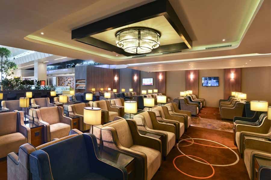 Plaza Premium Lounge B, International Departures Terminal 3, New Delhi