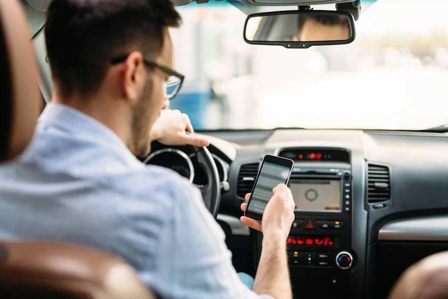 Using your cell phone while driving