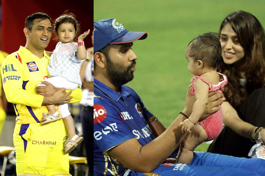 Star Cricketers and Their Kids During IPL 2019