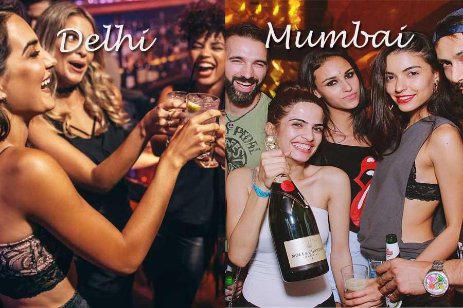 Nightlife & Security in Mumbai vs Delhi