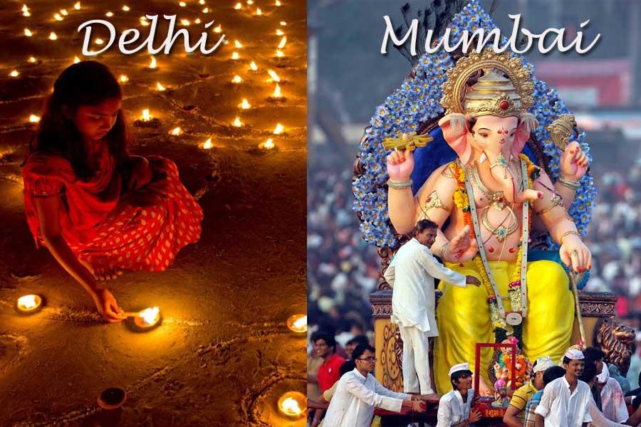 Culture in Mumbai vs Delhi