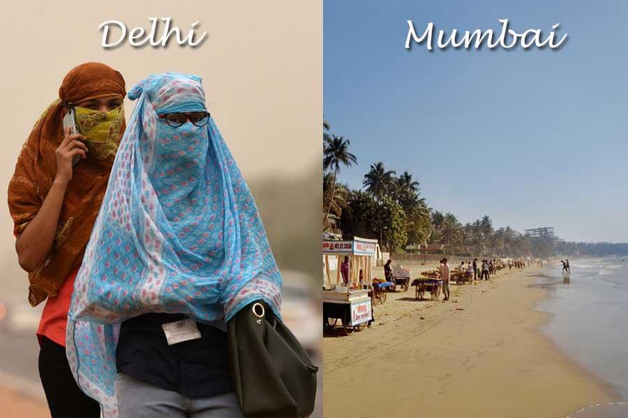 The Sea and the Rain Mumbai