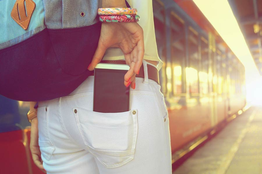 don't keep mobile Near Your Hip