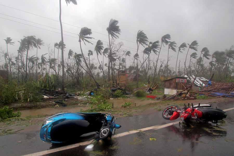 Cyclone Fani Slammed India's Eastern Coast
