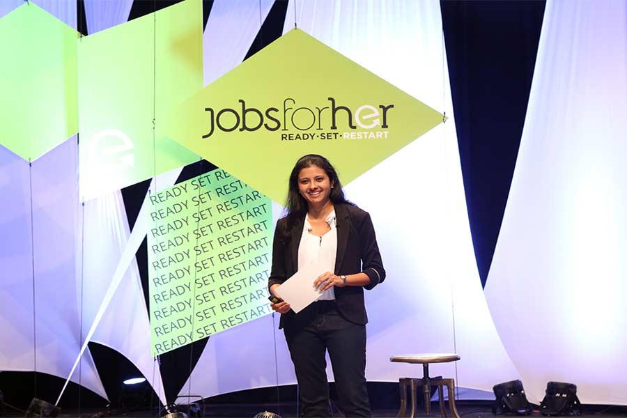 Neha Bagaria, JobsForHer