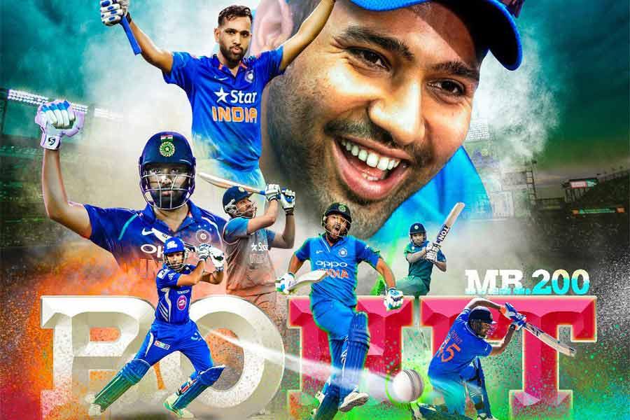Rohit Sharma The Hit Man