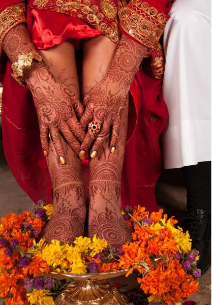 Wearing Henna