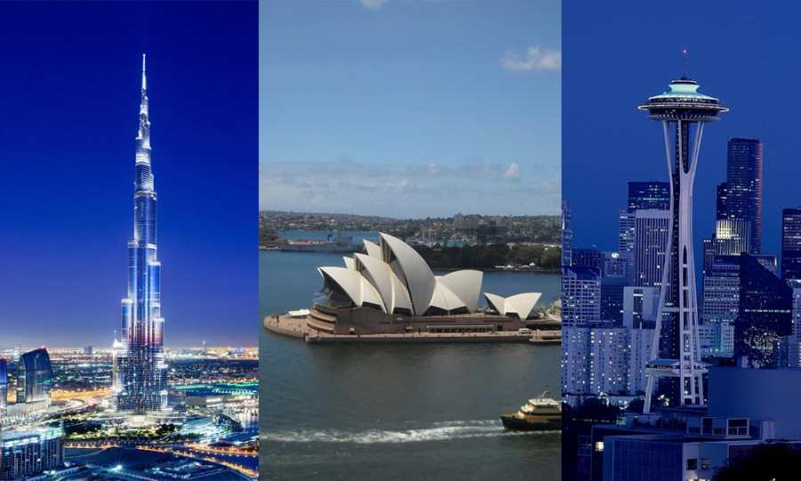 10 Most Iconic Buildings Around The World