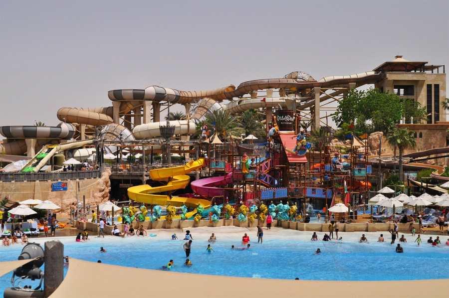 Wild Wadi Water Park of Dubai, United Arab Emirates