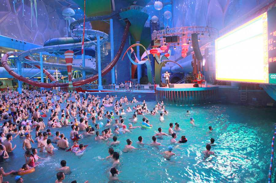 Water Cube Water Park, China