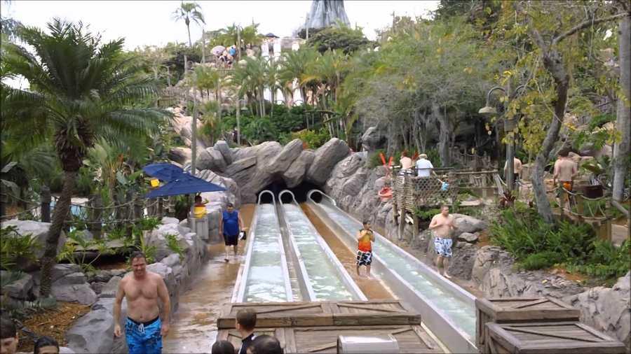 Disney's Typhoon Lagoon Water Park of Orlando, Florida, U.S.A.