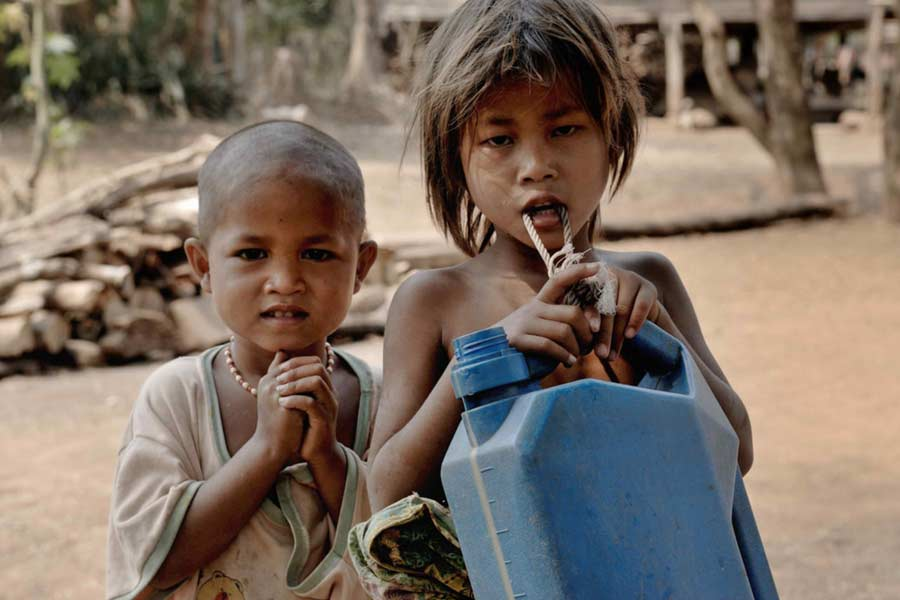 Most malnutrition young kids are in India
