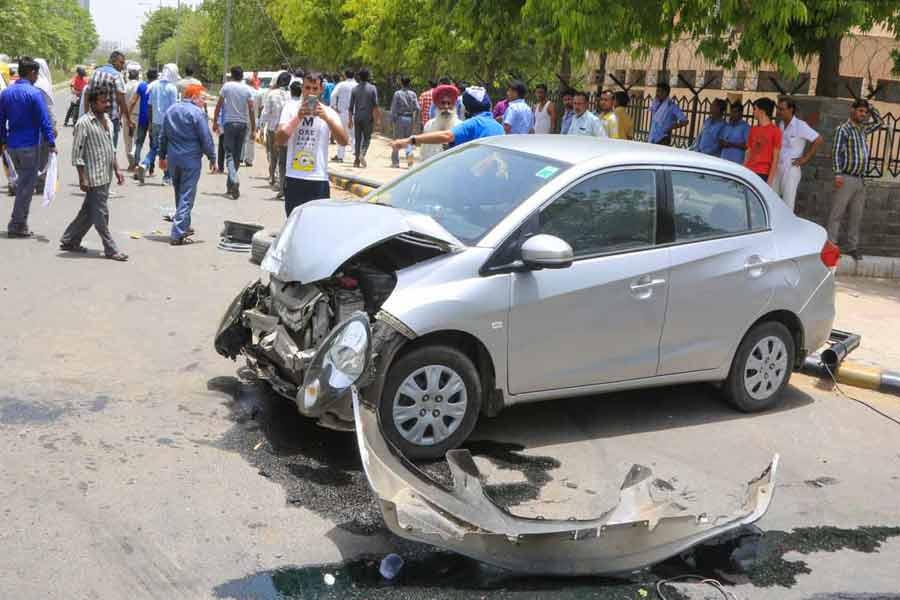 Maximum Road accidents