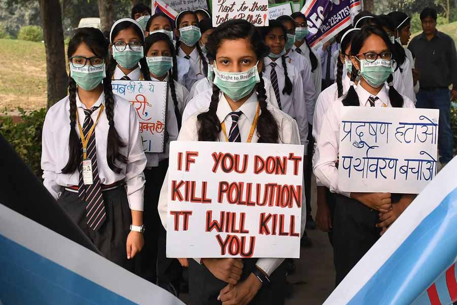India is notorious for having the worst air to breathe