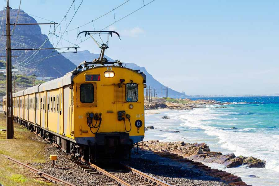 Most Unsafe railway track in Cape Town