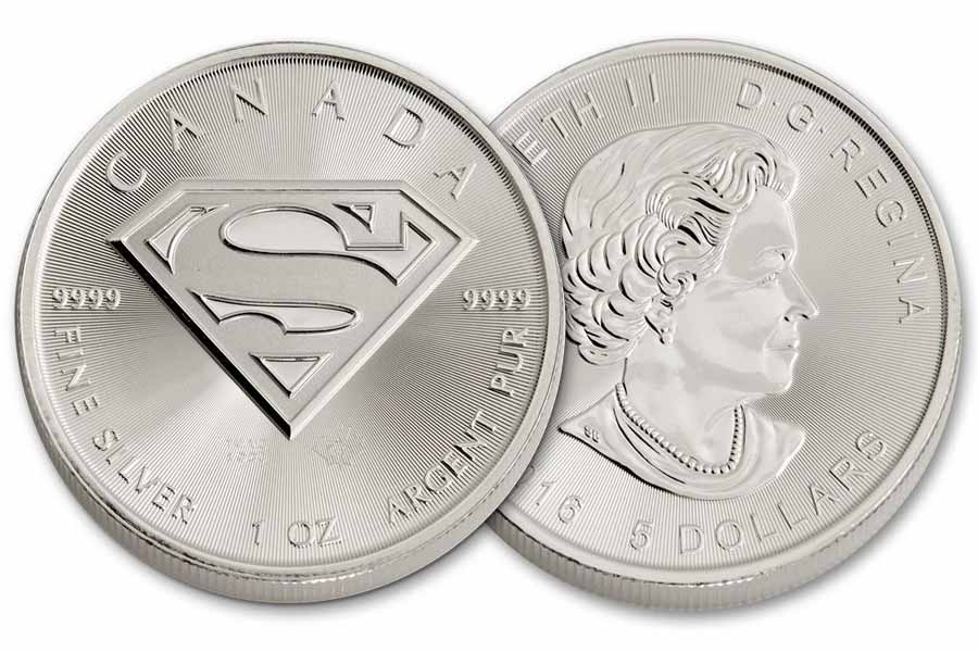 There is Superman on Canadian currency