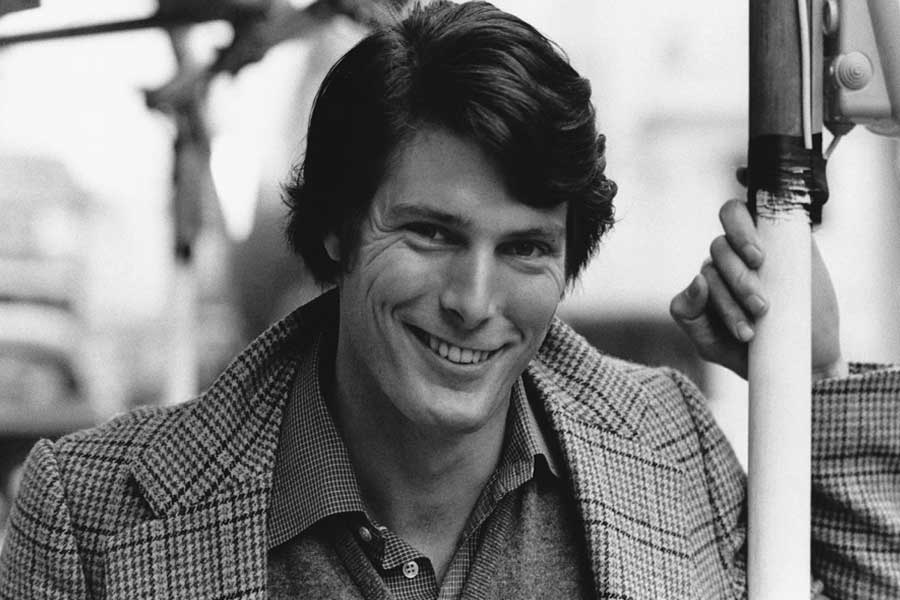 Christopher Reeve was not the perfect size for the role of Superman