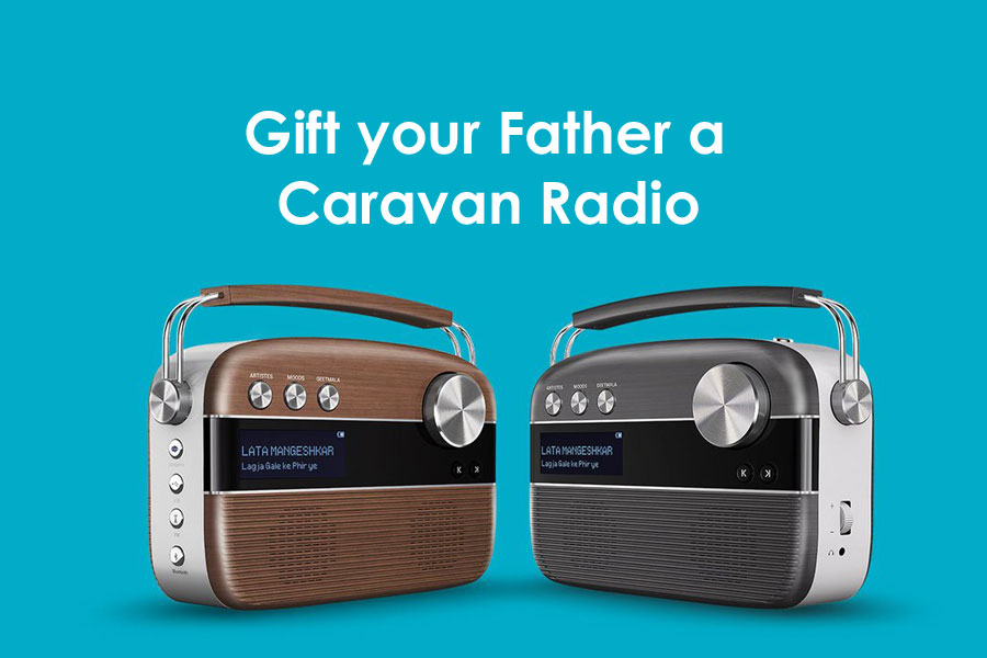 Gift your father a Caravan Radio