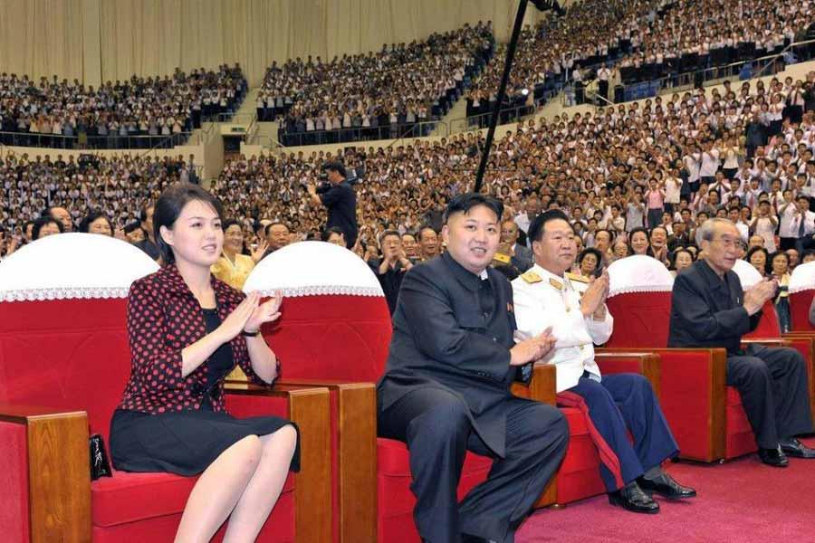 Women cannot wear trousers in North Korea