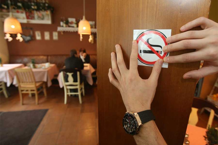 Smoking is prohibited in public areas in Bhutan