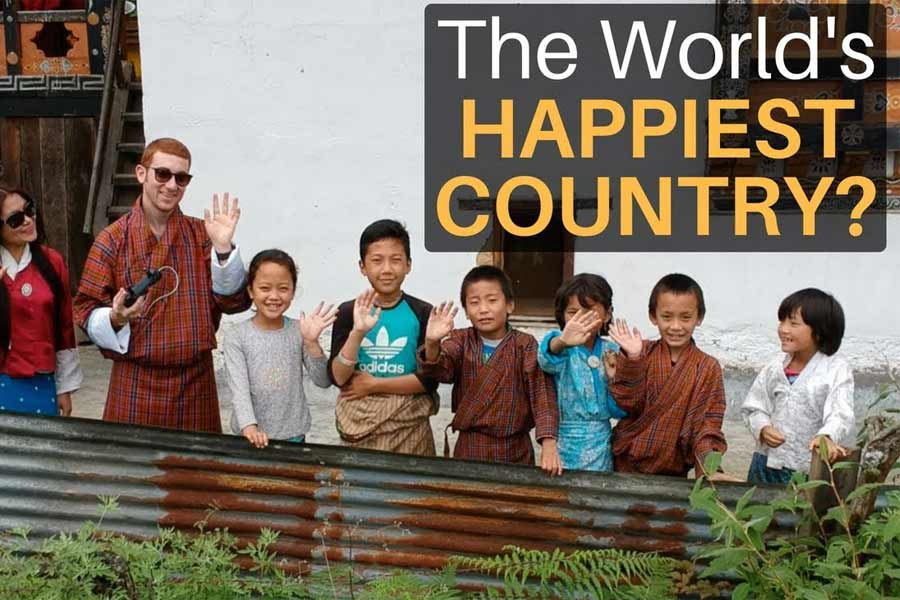 Bhutan is the Happiest Country in the world