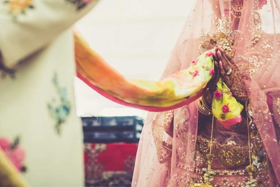 Teen 'Phere' instead of Saat Phere in Malayali weddings
