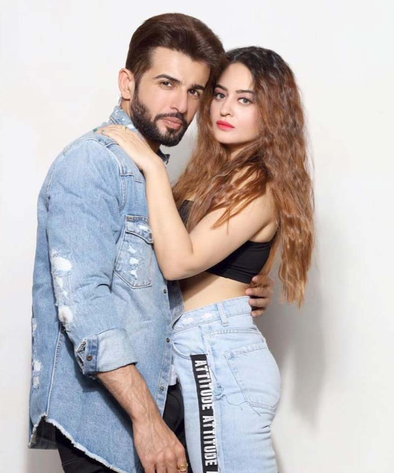 Mahhi Vij and her husband Jay Bhanushali