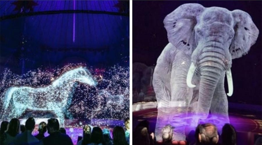 Circus Roncalli in Germany Makes Use of 3D Holograms Instead of Real Animals