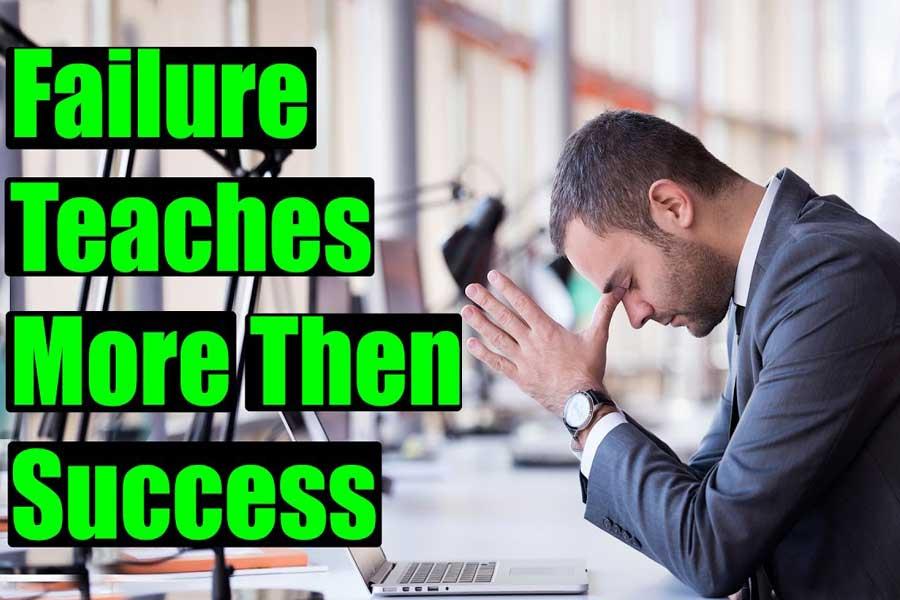 Failure provides answers