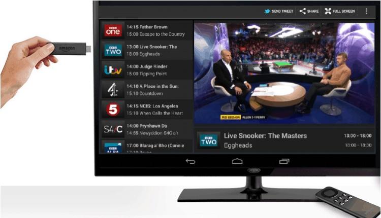Watching Live TV Using VPN