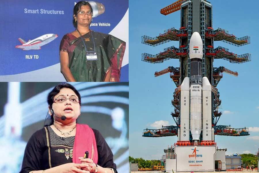 Meet Ritu Karidhal and M Vanitha Behind India's Chandrayaan-2 Mission