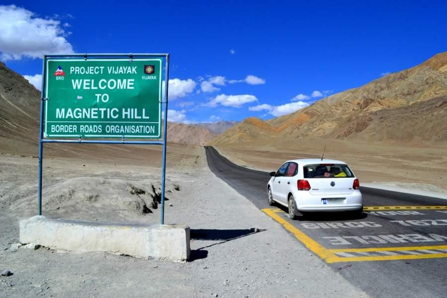 Ladakh's Magnetic hills