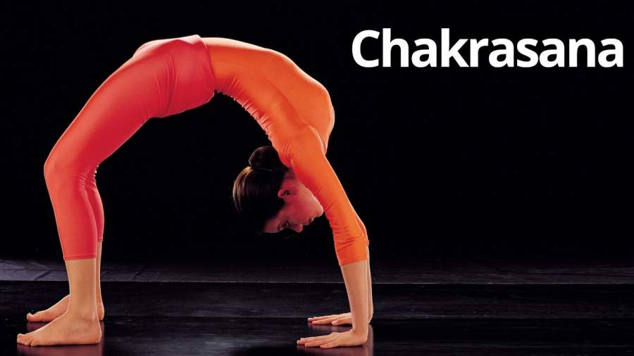 Chakrasana or Bridge position