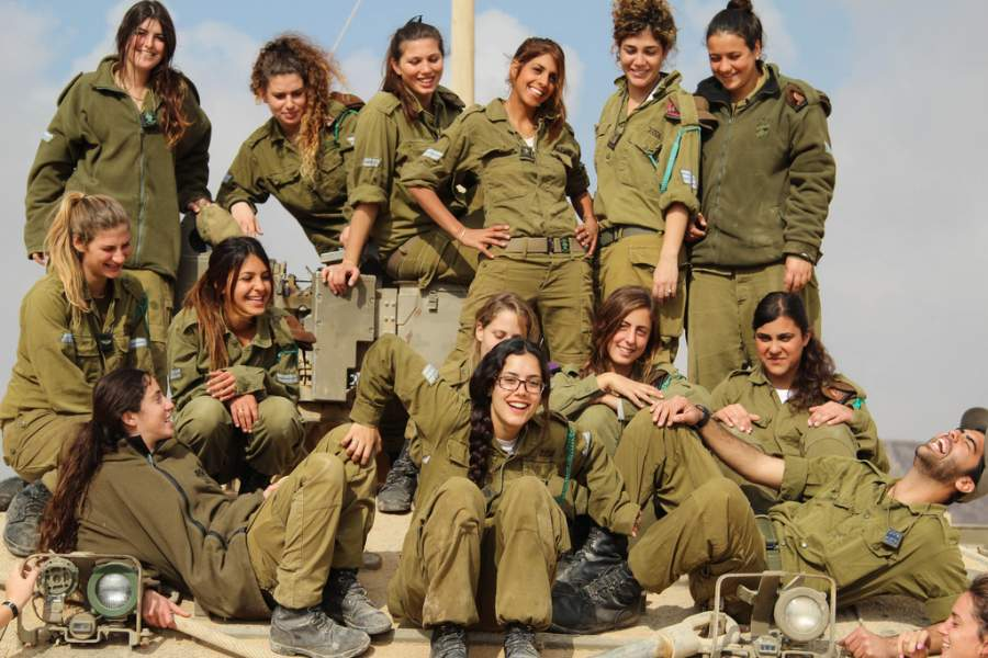 About 92 percent of women serve in Israel Defense Force