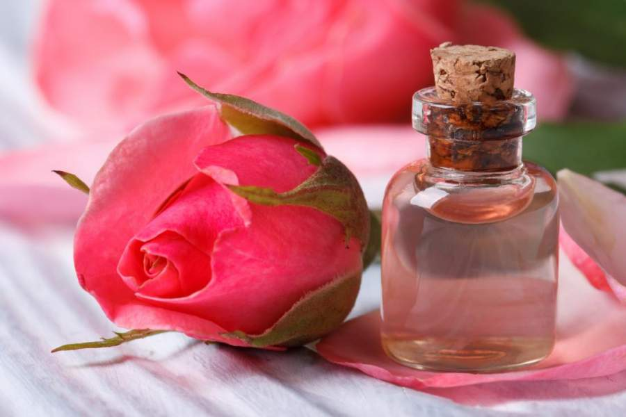 Rose water for Dark circles