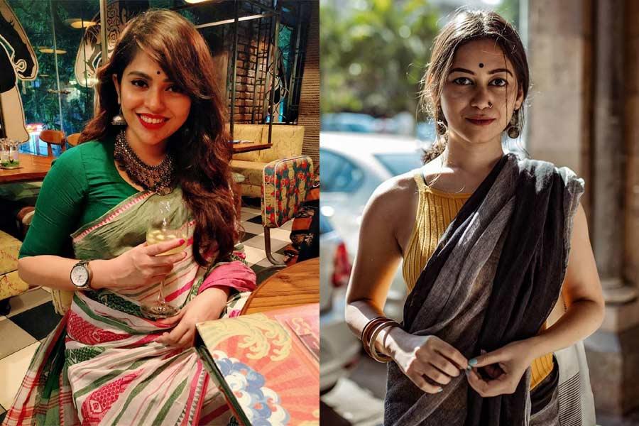 8 Desi Saree Bloggers