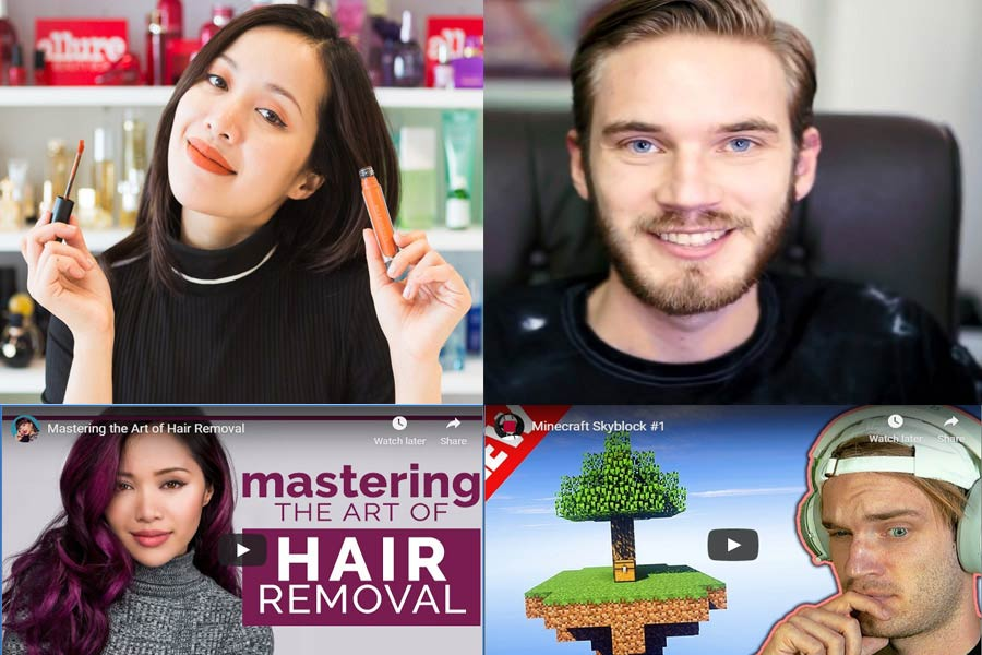 YouTube Stars Who Followed Their Passion and Became Millionaires