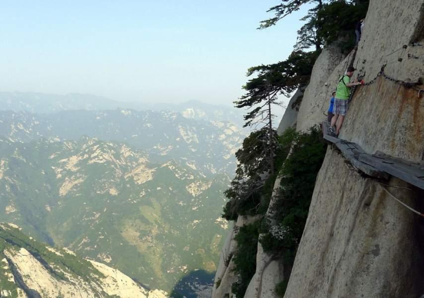 Hua Shan Mountain, China