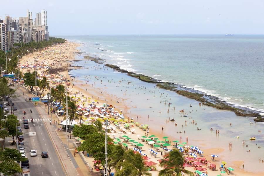 Praia De Boa Viagem Brasil