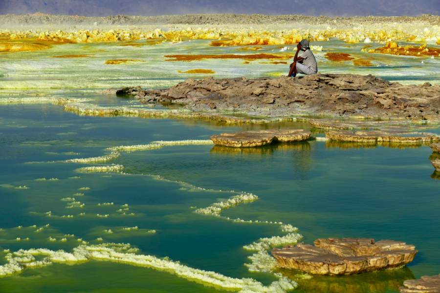 The Danakil Desert, Africa